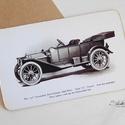 Vintage képeslap - Oldtimer 8.