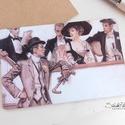 Vintage képeslap - 1920-as évek 1., Dekoráció, Naptár, képeslap, album, Otthon, lakberendezés, Képeslap, levélpapír, Valódi, kézzel készült vintage képeslap, mely akár postán is feladható!  Vagy igazi hangulatos essze..., Meska