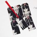 Vintage ajándékkísérő kártya 6., Naptár, képeslap, album, Karácsonyi, adventi apróságok, Ajándékkísérő, képeslap, Ajándékkísérő, 6 db-os, elegáns, 220 grammos dekorpapírra nyomott, igazi vintage hangulatú ajándékkísérő, m..., Meska