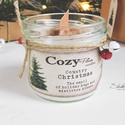 """Coutry Christmas szójagyertya - CozyPlum Candles, Dekoráció, Esküvő, Otthon, lakberendezés, Gyertya, mécses, gyertyatartó, Coutry Christmas szójagyertya  """"The smell of holiday hugs and mistletoe kisses""""  Bevallom, hogy volt..., Meska"""
