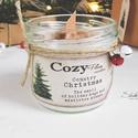 Coutry Christmas szójagyertya - CozyPlum Candles