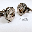 Mr. Ivor Novello - Mandzsetta antik ezüst színű foglalatban, Letisztult, mégis formabontóan izgalmas ez az ur...