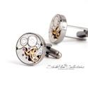 Mr. Ivor Novello - Mandzsetta antikolt ezüst színű foglalatban, Letisztult, mégis formabontóan izgalmas ez az ur...