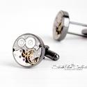 Mr. Ivor Novello - Mandzsetta fekete színű foglalatban, Letisztult, mégis formabontóan izgalmas ez az ur...