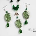 Everyday Green - zöld gyöngyös szett, Ékszer, Nyaklánc, Ékszerszett, Fülbevaló, Everyday Green... ha egy nem mindennapi zöldet viselnél minden nap. :) Kellemesen feldobhatod lege..., Meska