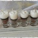 Csoki csoda gyertya, A kókuszos-kakaós-mézes bombát talpas rövidit...