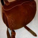 """""""Éva"""" női táska  ( AN33) Steixner, Férfiaknak, Táska, Kézzel fűzött,(egy szálemeléses technikával),kiváló minőségű  marhabőr kis táska, szegecselt,vésett,..., Meska"""