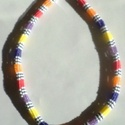 AFRIKA LÁNC, Ékszer, Nyaklánc, Hétféle 11/0-ás japán gyöngyöt választottam az ékszer elkészítléséhez. A herringbone lá..., Meska
