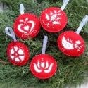 Hagyományőrző karácsonyfa dísz 5db, Nagyon szeretem a magyar motívumokat, ezért is k...