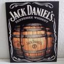 Falikép Jack Daniels, Otthon, lakberendezés, Férfiaknak, Falikép, Sör, bor, pálinka, Decoupage, transzfer és szalvétatechnika, Fotó, grafika, rajz, illusztráció, Táblakép Jack Daniels kedvelőknek  20x 25 cm MDF lapra kasírozott kép.  Falikép otthon díszítésére..., Meska