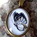 Pillangó, Ékszer, Gyűrű, Nyaklánc, Medál, Ékszerkészítés, A pillangók a legnagyobb és leglátványosabb nappali lepkék: nagy, ritkábban közepes termetűek, szín..., Meska