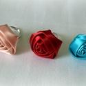 Kettőt fizet hármat vihet szatén rózsa gyűrű, Esküvő, Ékszer, Ruha, divat, cipő, Gyűrű, Ékszerkészítés, Kettőt fizet hármat vihet!  Gyönyörű szatén rózsa gyűrű,most     Színt a fényképen lévő gyűrűk közü..., Meska
