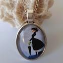 Egyedi készítésű Mary Poppins nyaklánc, Ékszer, Mindenmás, Nyaklánc, Ékszerszett, Egy nap a keleti széllel megérkezik Mary Poppins , a nevelőnő. Táskája azonnal lenyűgözi a gyerekeke..., Meska