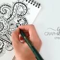 Logó készítése, logó szerkesztése, egyedi logó, modern logó, natural logó, greenery logó, esküvői logó, Mindenmás, Kalligrafikus logó,  a képen látható módon, azzal megegyező dizájnnal.  Logó tervezése, sze..., Meska