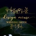 Logó készítése, logó szerkesztése, egyedi logó, modern logó, natural logó, greenery logó, esküvői logó, Mindenmás, Greenery logó,  a képen látható módon, azzal megegyező dizájnnal.  Logó tervezése, szerkesz..., Meska