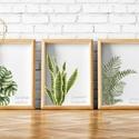 """Modern dekor, faldekor, szobanövények faldekor, kép nappaliba, , Baba-mama-gyerek, Gyerekszoba, Baba falikép, Vízfesték technikával készült képek nyomtatva, """"szobanövények""""  faliképek modern nappaliba,..., Meska"""