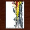 Pontok vagyunk I. :: A4 nyomdai nyomat, Képzőművészet, Grafika, Festmény, Akril, Nyomdai nyomat, egy akrilfestékkel készített festményemről  Megvásárolható a képen látható festmény ..., Meska