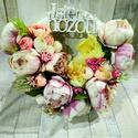 Isten Hozott ajtódísz, Dekoráció, Dísz, Virágkötés, Egyedi tavaszi dekor., Meska