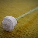Papírkvirág- 10 db, Dekoráció, Esküvő, Ünnepi dekoráció, Esküvői dekoráció, Papírművészet, Saját kezűleg, rózsaszín krepp papírból készült gyönyörű rózsa. Esküvői dekorációnak is gyönyörű, d..., Meska