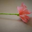 Papírvirág- 10db, Dekoráció, Esküvő, Ünnepi dekoráció, Esküvői dekoráció, Papírművészet, Saját kezűleg, rózsaszín krepp papírból készült gyönyörű rózsa. Esküvői dekorációnak is gyönyörű, d..., Meska
