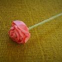 NŐNAPI AKCIÓ- Valentin napi örökvirág- 10 db, Dekoráció, Esküvő, Ünnepi dekoráció, Esküvői dekoráció, Papírművészet, Saját kezűleg, rózsaszín krepp papírból készült gyönyörű rózsa. Esküvői dekorációnak is gyönyörű, d..., Meska