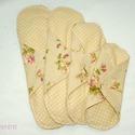 Rózsa vintage Mosható intim betét minden méret csomag, Baba-mama-gyerek, Szépségápolás, Egészségmegőrzés, Varrás, Mosható tisztasági betét a tökéletes kényelemért és tisztaságért! Menstruáció esetén használható be..., Meska