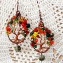 Őszi fa - fülbevaló - rendelhető, Különleges őszies hangulatú fülönfüggő. Ez...