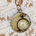 Az eltűnt idő nyomában, Medál órával *-* Átmérője 2,5cm. A lánc nem...