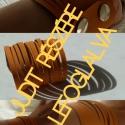 JUDIT RÉSZÉRE lefoglalva Narancssárga  karkötő, Narancssárga színű  textilbőrből készített,...