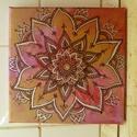 """Mandala kép- """"Passion """"- szenvedély, mandala, Dekoráció, Kép, """"Passion """"- szenvedély, mandala  Mandala festmények  A mandala egy szanszkrit szó, melynek jelentése..., Meska"""