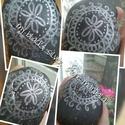 Meditációs- mandala kövek #1, Otthon, lakberendezés, Dekoráció, Asztaldísz, MEditációs - mandala kövek    A mandala A mandala ősi szimbólum, mágikus kör, az én tükröződése, a b..., Meska