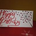 Szülinapi képeslap - pitypangos 1., Naptár, képeslap, album, Dekoráció, Képeslap, levélpapír, Ünnepi dekoráció, Karácsonyi, adventi apróságok, Ajándékkísérő, képeslap, Happy birthday feliratú pitypangos képeslap  Kedveskedj családtagjaidnak, barátaidnak ezzel a sz..., Meska