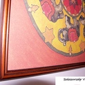 Mandala - Szerencsés haladás az úton - elefántos mandala, Dekoráció, Otthon, lakberendezés, Kép, Falikép, Ez a mandala szimbolikájában a Feng Shui világához kapcsolódik, a segítő emberek, a segítség nyújtás..., Meska