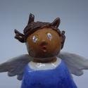 Ijedt angyal, Angyalka haja égnek áll - lesz tennivalója, mí...