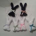 Nyuszkók feketén, fehéren..., Lassan itt a Húsvét és ismét lehet dekorálni ...