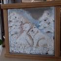 vilagoto uveg macikkal, Dekoráció, Otthon, lakberendezés, Kép, Lámpa, Jelenleg keszleten levo macis letezik.. nem csak gyereknek... ?jjeli lampanak is kisbaba melle ...  ..., Meska