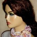 Tavaszi  könnyed virágillat selyemkendő ( közepes ) , Ruha, divat, cipő, Női ruha, Kendő, sál, sapka, kesztyű, Kendő, Selyemfestés, Zsűrizett,zsűriszámmal ellátott alkotás!Hasonló megrendelhető!  Tavaszi  könnyed virágillat selyemk..., Meska