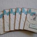Akció! Nyár,  napfény,  szeretem - Szülinapi meghívó csomag , Naptár, képeslap, album, Baba-mama-gyerek, Képeslap, levélpapír, Papírművészet, 15 % kedvezmény , 4800 ft helyett 4080 ft  a Nyár,  napfény , szeretem - akció keretében.  A csomag..., Meska