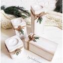 LIMITÁLT! Fehér adventi rönk koszorú, Otthon, lakberendezés, Karácsonyi, adventi apróságok, Karácsonyi dekoráció, Gyertya, mécses, gyertyatartó, Festett tárgyak, ♥♥ 10.000 Ft* összértéket meghaladó vásárlás esetén a SZÁLLÍTÁS INGYENES.  ♥♥ 15.000 Ft* összértéke..., Meska