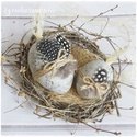 Vintage Tojás 2 db - Kottás LIMITÁLT! (húsvét, húsvéti , különleges, natúr természetes, rusztikus), Otthon, lakberendezés, Húsvéti díszek, Dekoráció, Ünnepi dekoráció, Igazi húsvéti különlegességek LIMITÁLT mennyiségben!  Visszafogott stílus, természetes harmónia, fáb..., Meska