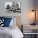 Akril festmény, Otthon & lakás, Dekoráció, Kép, Festészet, Egy egyedi festmény mindig különlegessé varázsolja az otthont, melyet nem csak adni, de kapni is ör..., Meska