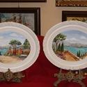 Napfényes Itália - festmény vásár ! 12900 Ft / db, Képzőművészet, Festmény, Akril, Festészet, Új állapotban - műteremből megvásárolható festmények - élettartam garanciával , számlával , a kép ..., Meska