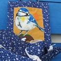 Picinke Cinke Szatyor, Táska & Tok, Bevásárlás & Shopper táska, Shopper, textiltáska, szatyor, Festett tárgyak, Varrás, Textilfestékkel festett textil szatyor. Egyéni elképzelés alapján is elkészítem. Mosható., Meska