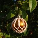 Sárga-Bézs Horgolt Karácsonyfadísz, Sárga-Bézs Horgolt dísz, dekorációnak vagy Ka...