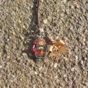 Egyedi Matroska babás nyaklánc, Kézműves Vintage Matroska mintás nyaklánc.  Sa...
