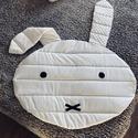 Miffy nyuszis babafekhely és takaró, Otthon & Lakás, Lakástextil, Takaró, Varrás, Saját készítésű Miffy nyuszis babatakaró, mely babafekhelynek is egyaránt alkalmas. Anyaga pamut és..., Meska