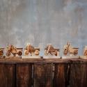 Kézzel készített fa motorok, Művészet, Mindenmás, 74 éves apukám által kézzel készített kis motorokat kínálok eladásra.  A kis motorok legkisebb alka..., Meska
