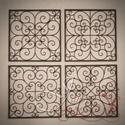 Falidísz - Mandala szett, Otthon, lakberendezés, Falikép, Ez a fali dísz 4db 42x42cm-es négyzetből áll. , Meska