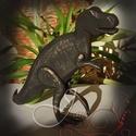 T-Rex, Otthon, lakberendezés, Magassága 16cm., Meska