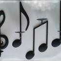 """Hangjegy gyertyatartók """"zongorista"""" részére, Ezeket a fali gyertyatartókat """"zongorista"""" felhas..."""